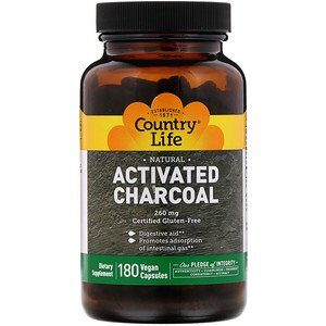 Activated Charcoal.  Click to Read